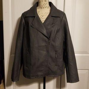 Alfani pleather jacket